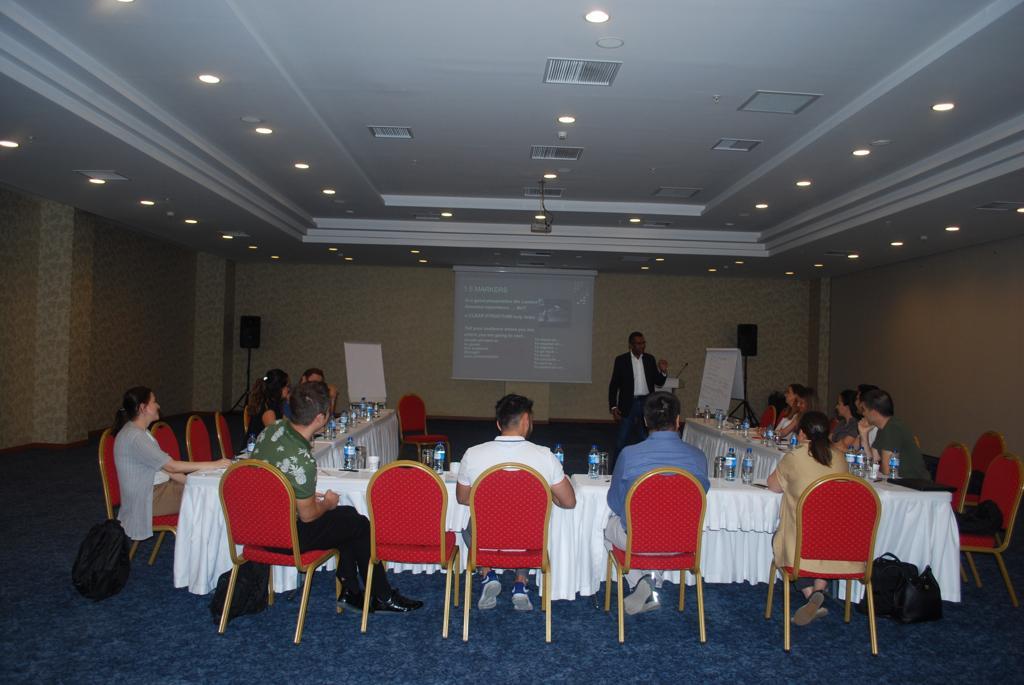 The Language of Effective for Presentations - 4-5 Temmuz 2019